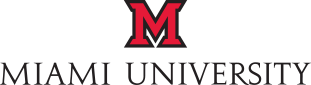Miami University Footer logo