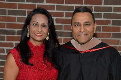 Dinesh and Ila Paliwal pay it forward with $1.5 million gift to the Farmer School of Business