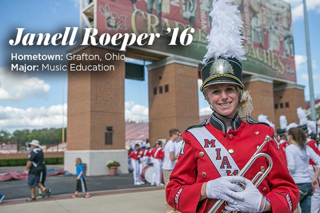 Miami University Janell Roeper 16